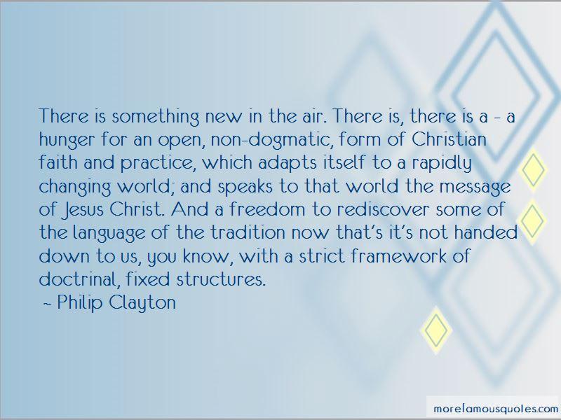 Philip Clayton Quotes