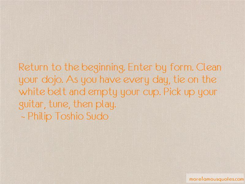 Philip Toshio Sudo Quotes