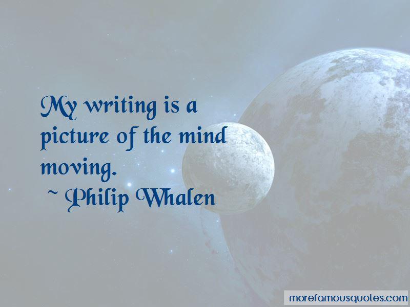 Philip Whalen Quotes