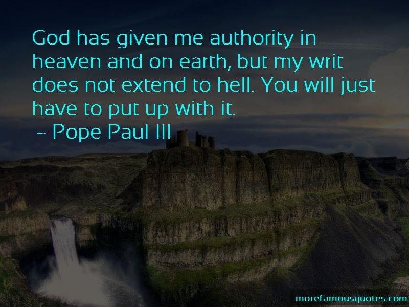 Pope Paul III Quotes Pictures 2