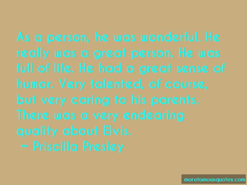 Priscilla Presley Quotes