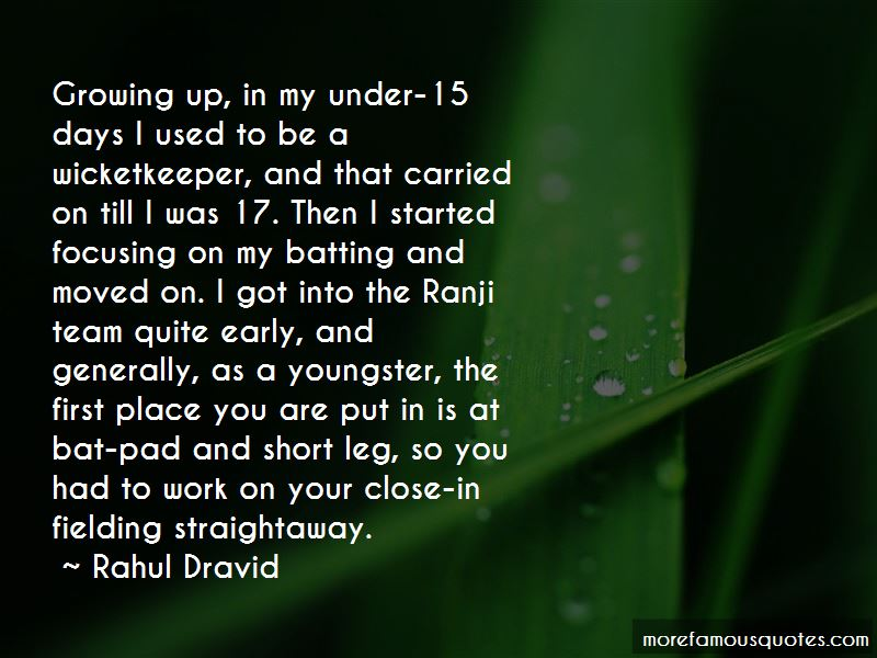 Rahul Dravid Quotes Pictures 2
