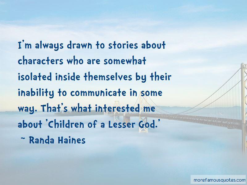 Randa Haines Quotes Pictures 2