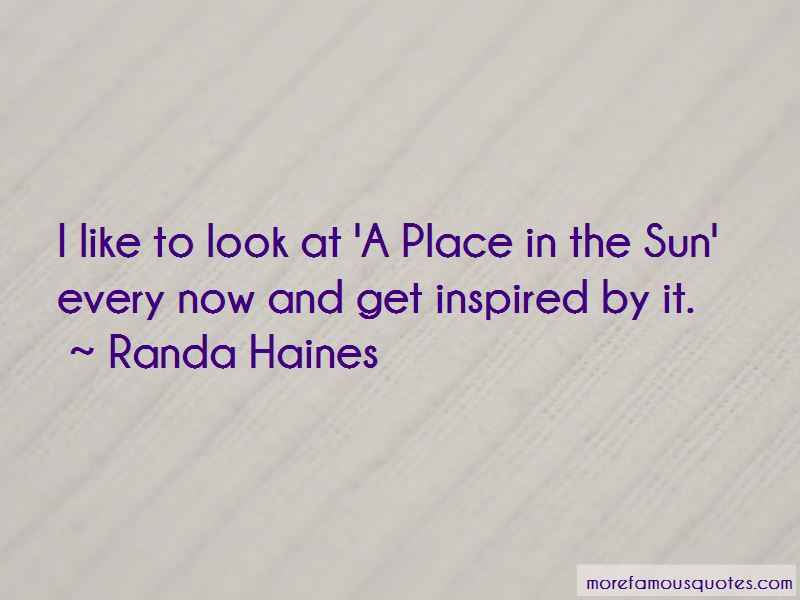 Randa Haines Quotes