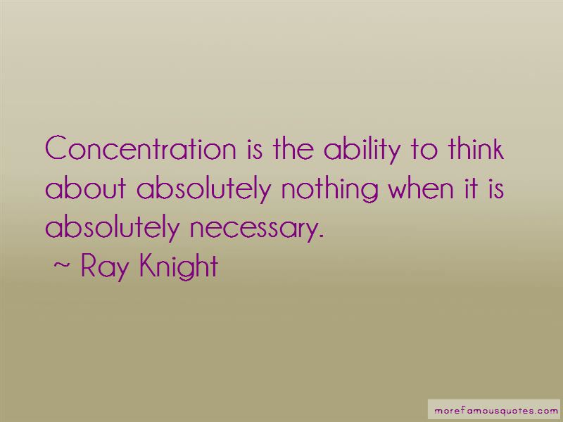 Ray Knight Quotes