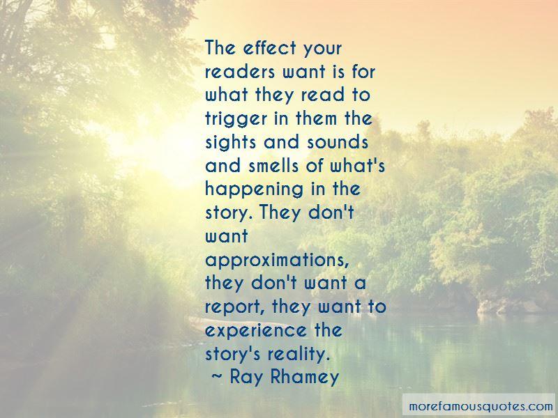 Ray Rhamey Quotes