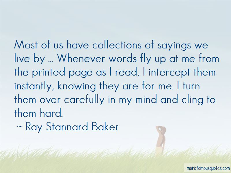 Ray Stannard Baker Quotes Pictures 2