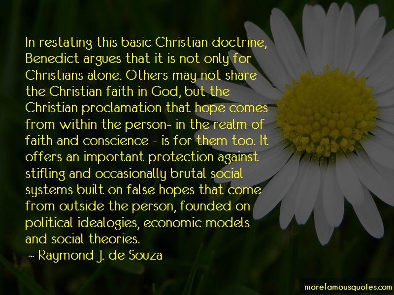 Raymond J. De Souza Quotes Pictures 3