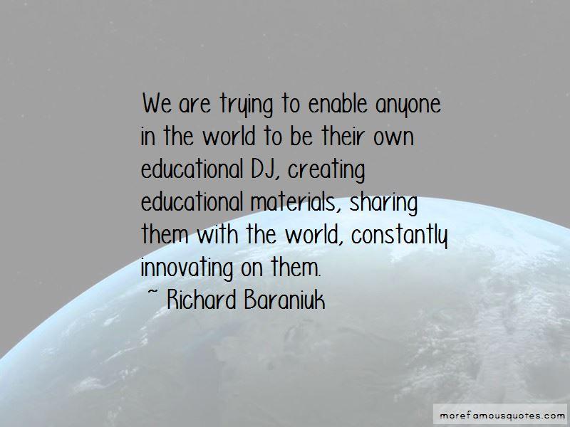 Richard Baraniuk Quotes