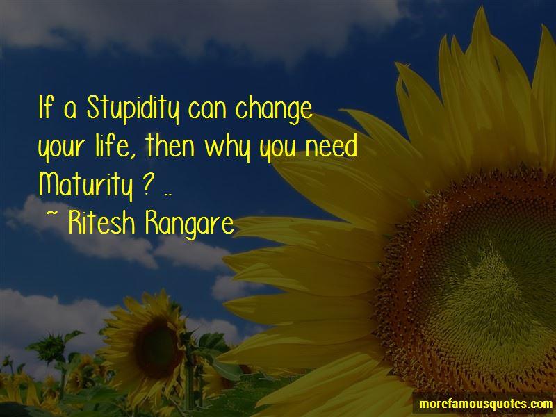 Ritesh Rangare Quotes