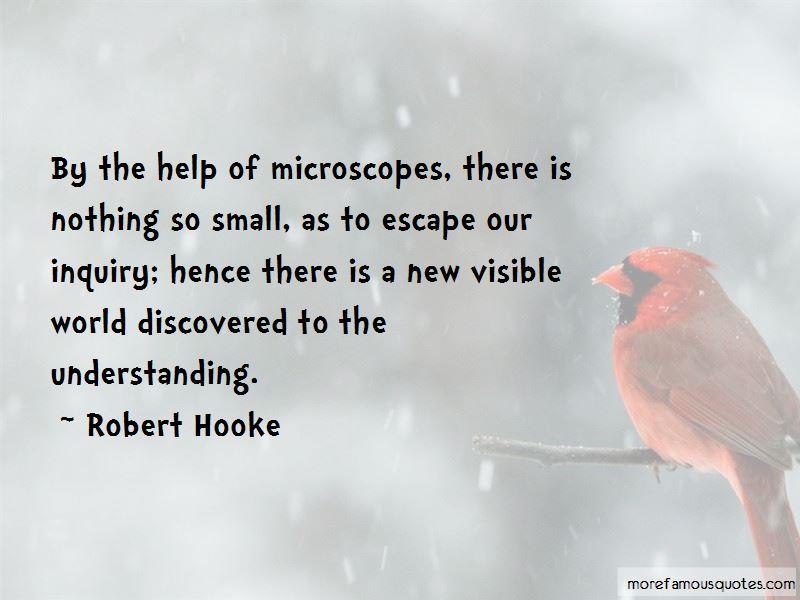 Robert Hooke Quotes
