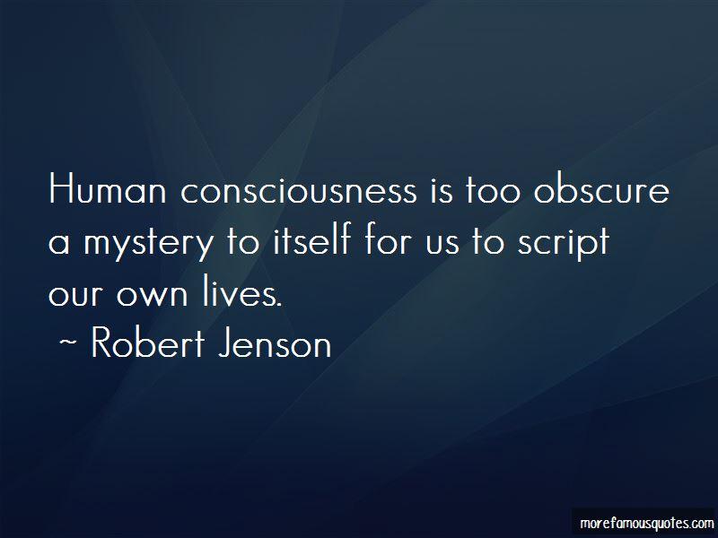 Robert Jenson Quotes