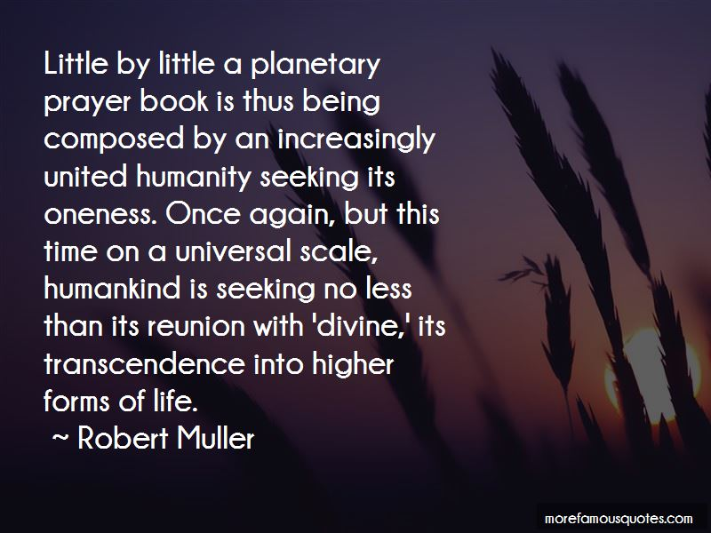 Robert Muller Quotes