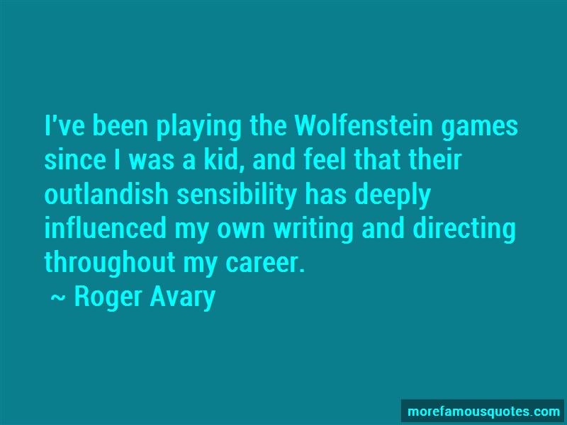 Roger Avary Quotes