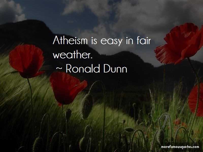 Ronald Dunn Quotes