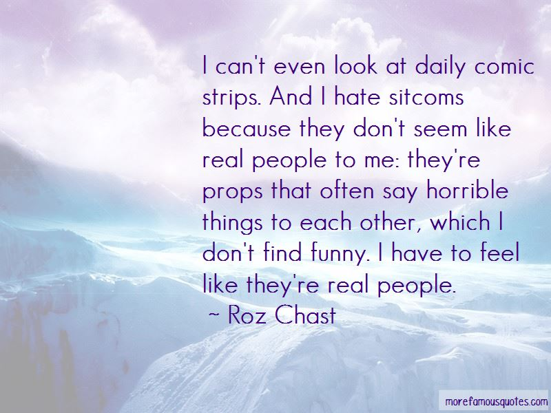 Roz Chast Quotes