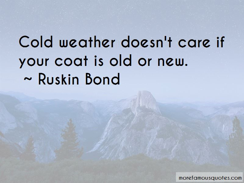 Ruskin Bond Quotes Pictures 4