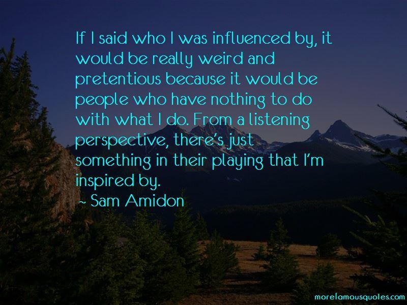 Sam Amidon Quotes