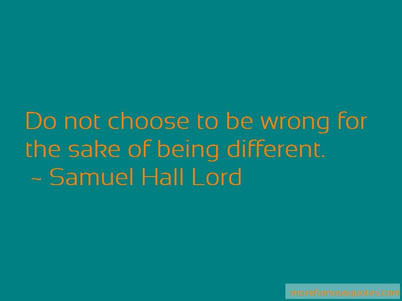 Samuel Hall Lord Quotes Pictures 2