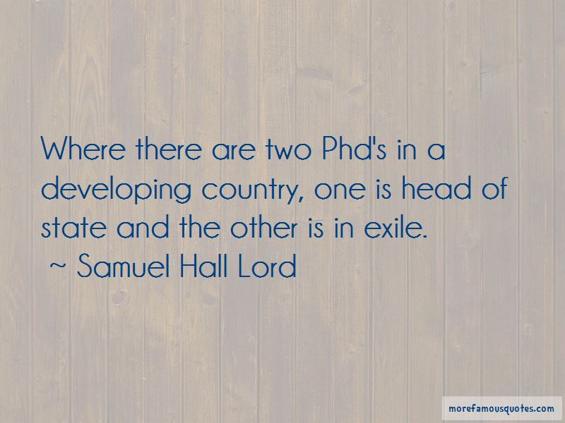 Samuel Hall Lord Quotes Pictures 3
