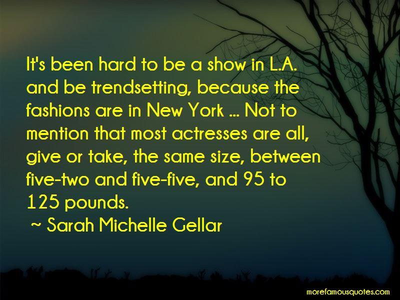 Sarah Michelle Gellar Quotes Pictures 2