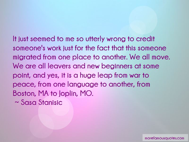Sasa Stanisic Quotes Pictures 2