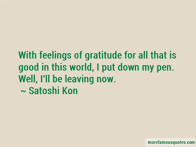 Satoshi Kon Quotes Pictures 3