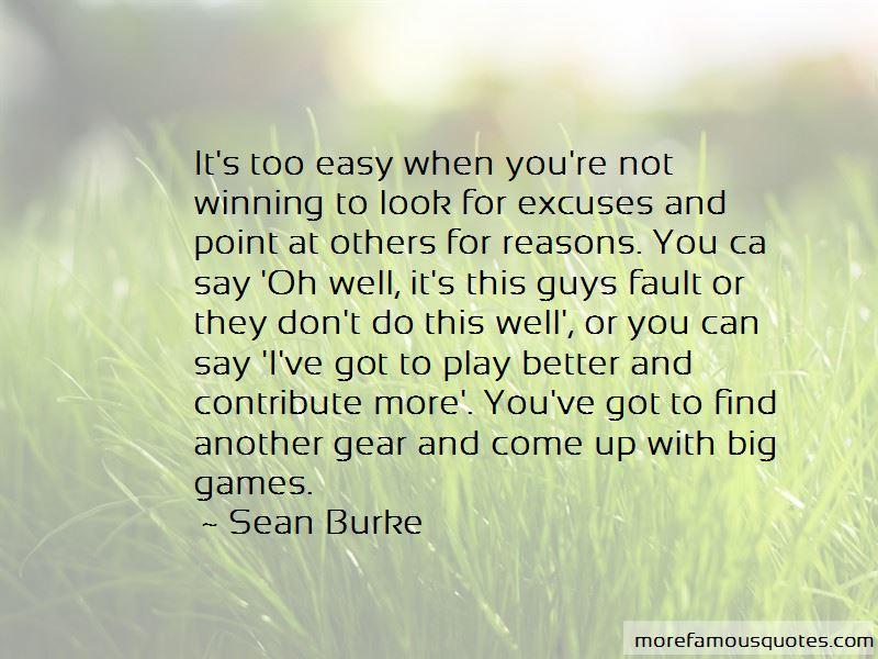 Sean Burke Quotes