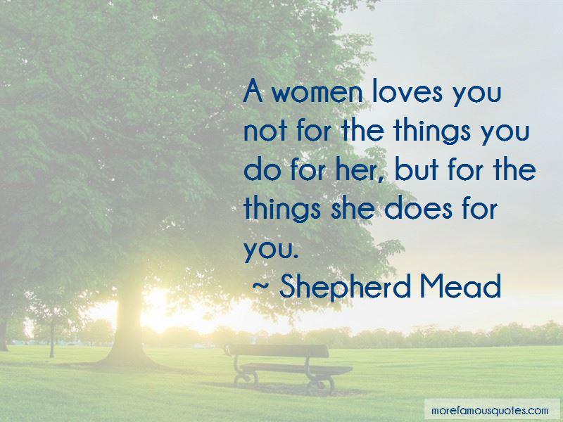 Shepherd Mead Quotes