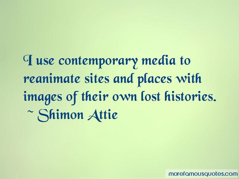 Shimon Attie Quotes Pictures 2