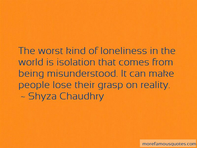 Shyza Chaudhry Quotes