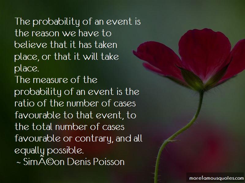 Simeon-Denis-Poisson Quotes