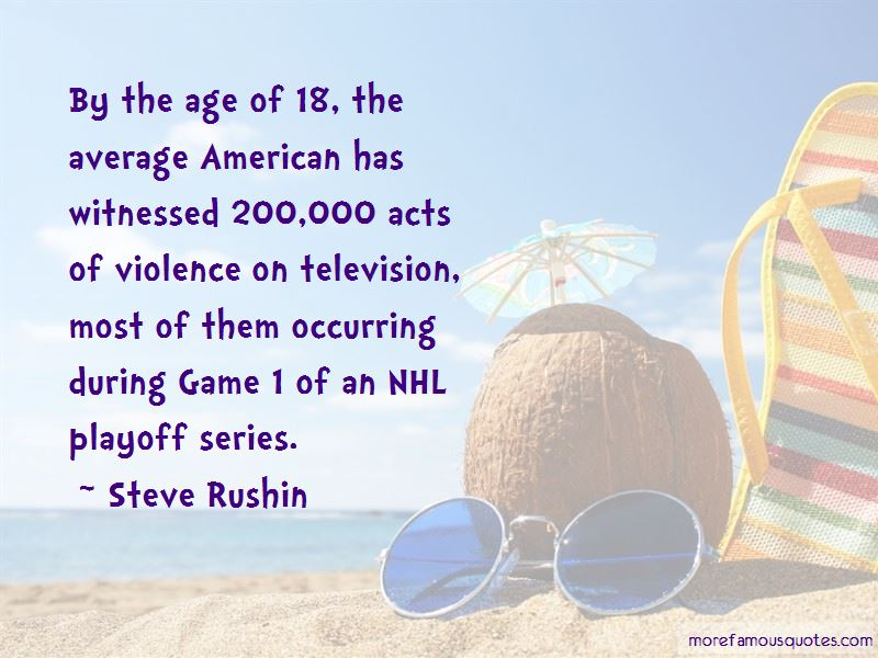 Steve Rushin Quotes Pictures 4