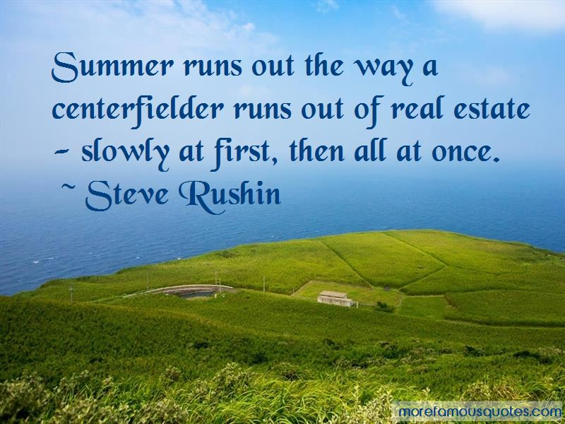 Steve Rushin Quotes