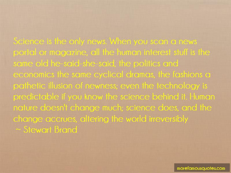 Stewart Brand Quotes Pictures 4