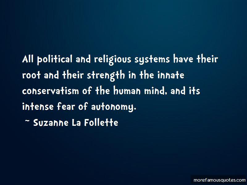 Suzanne La Follette Quotes Pictures 3