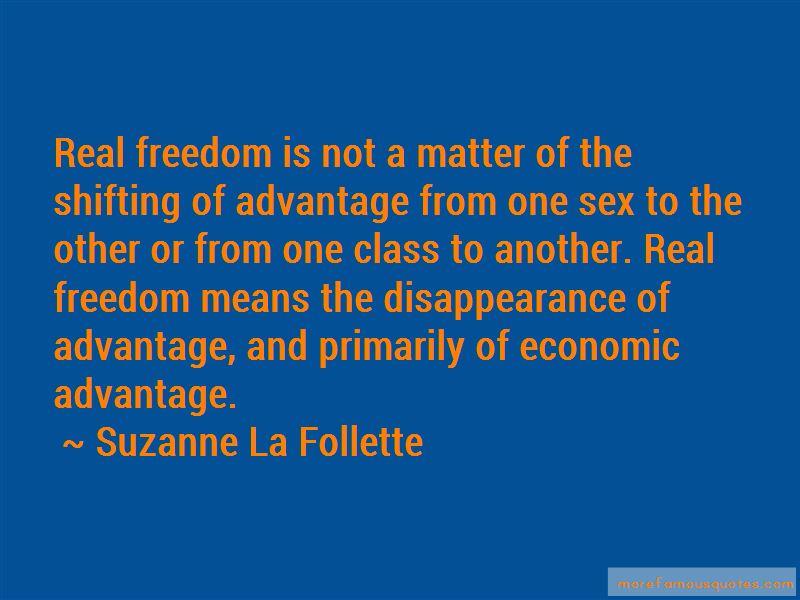 Suzanne La Follette Quotes