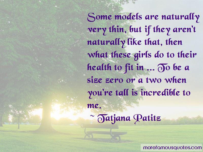 Tatjana Patitz Quotes Pictures 2