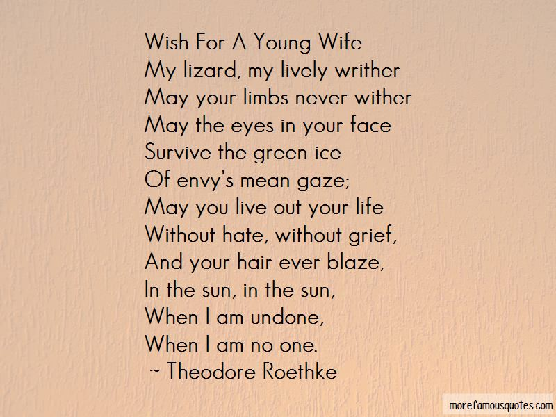Theodore Roethke Quotes Pictures 4