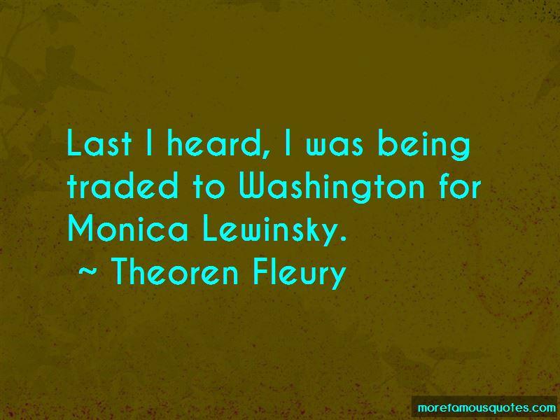Theoren Fleury Quotes