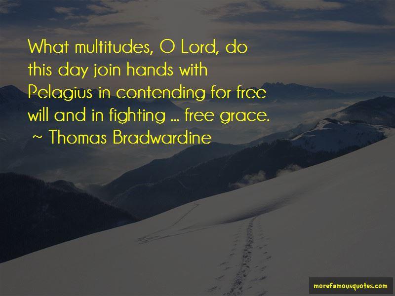 Thomas Bradwardine Quotes
