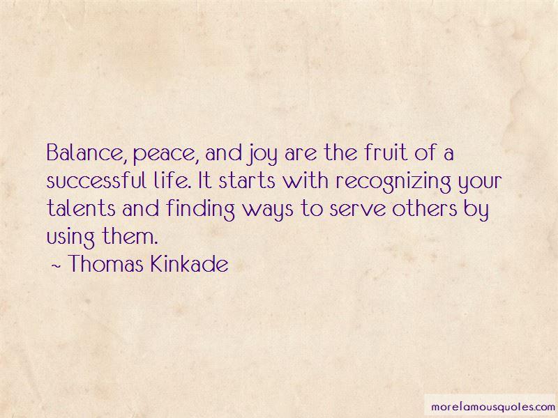 Thomas Kinkade Quotes