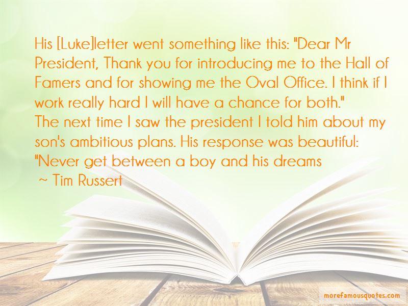 Tim Russert Quotes
