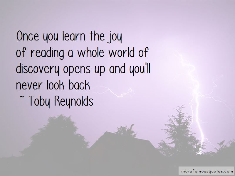 Toby Reynolds Quotes