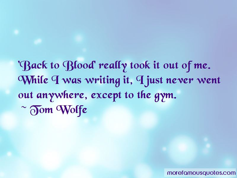 Tom Wolfe Quotes Pictures 2