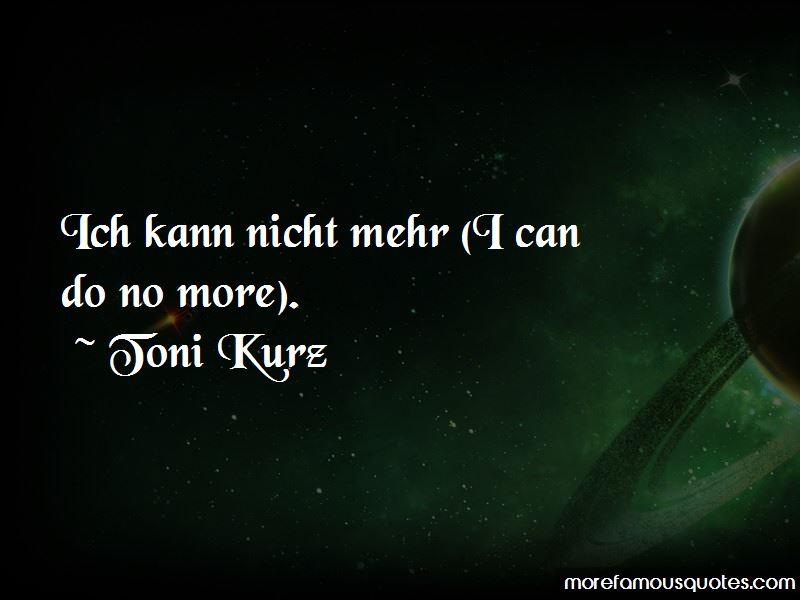 Toni Kurz Quotes