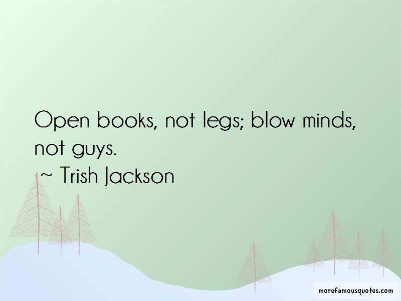 Trish Jackson Quotes Pictures 3