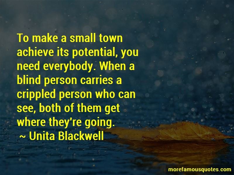 Unita Blackwell Quotes Pictures 2