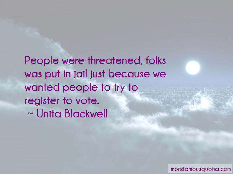 Unita Blackwell Quotes Pictures 4