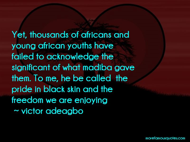 Victor Adeagbo Quotes Pictures 2